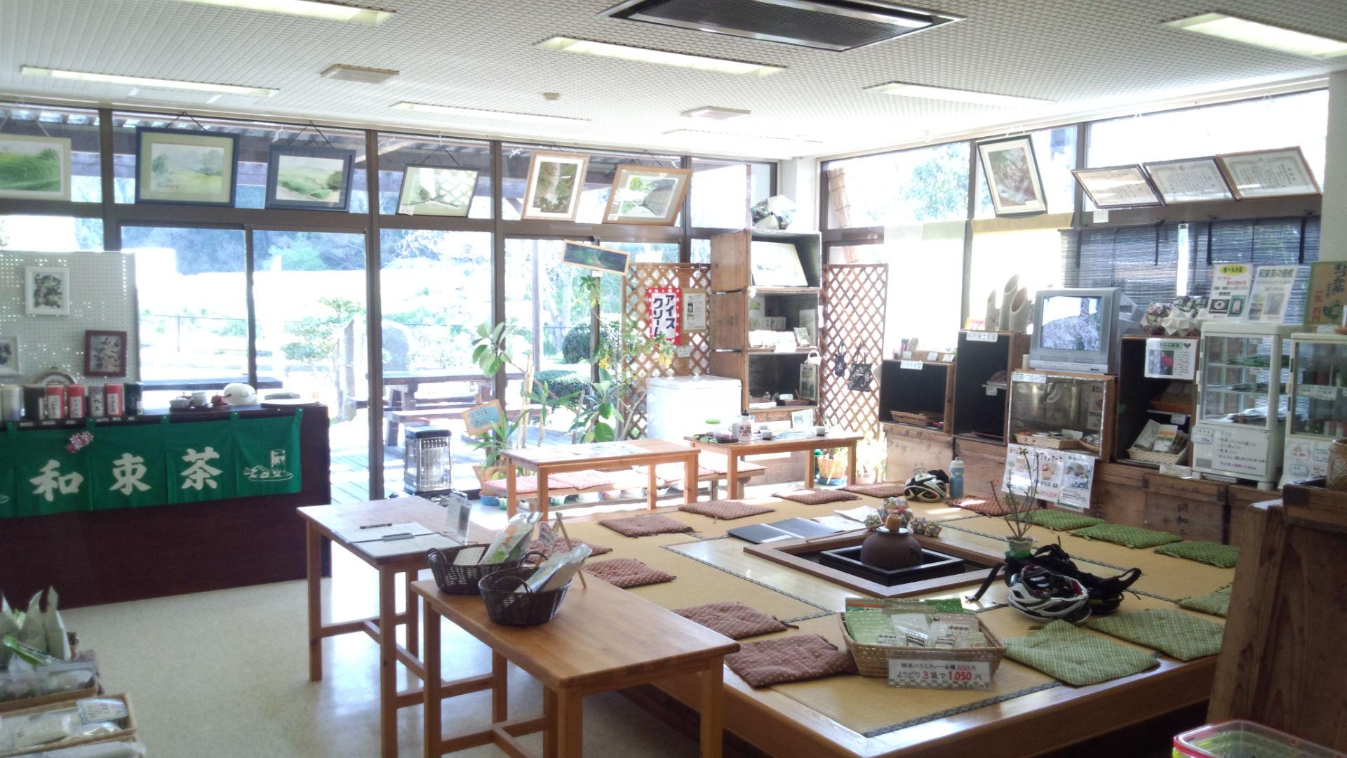 和束茶カフェ店内